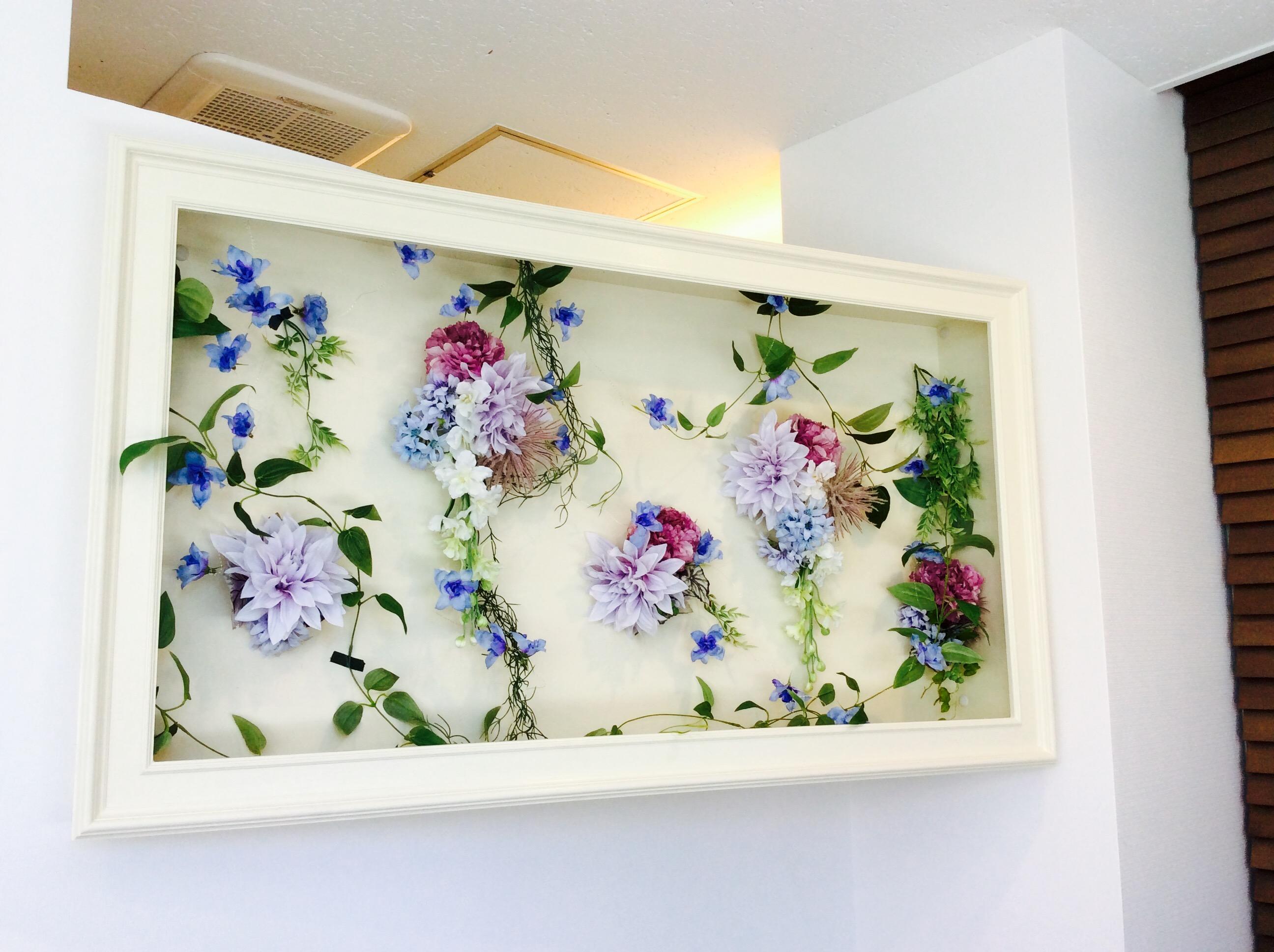 待合室お花